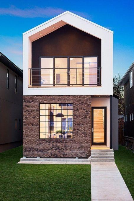 Contoh Desain Tampak Depan Rumah Minimalis Modern 2 Lantai Type 36 Fitrah Cemerlang