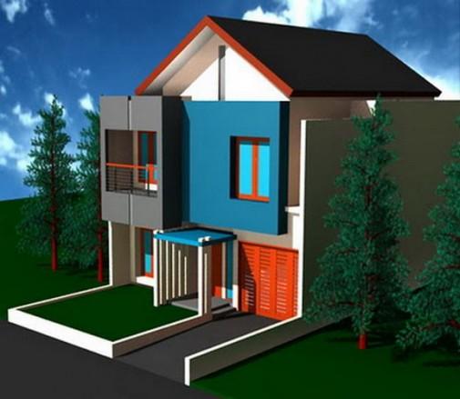 Gambar Desain Rumah Minimalis Di Minecraft