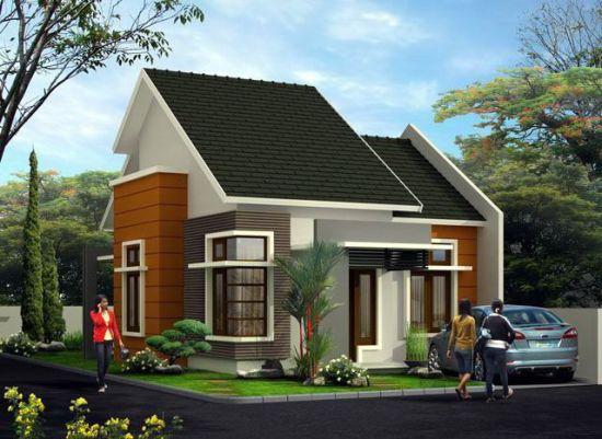 6 Type Denah Desain Foto Eksterior Rumah Minimalis Modern 1 Lantai 3 Kamar Terbaru Fitrah Cemerlang