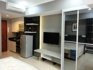 desain interior apartemen type studio cantik