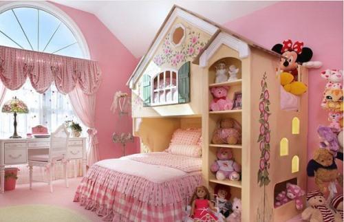 25 Desain Kamar Tidur Remaja Putri Sederhana Sisi Rumah Minimalis