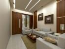 Contoh Interior Desain Ruang Tamu Minimalis Sederhana Ukuran 3×3