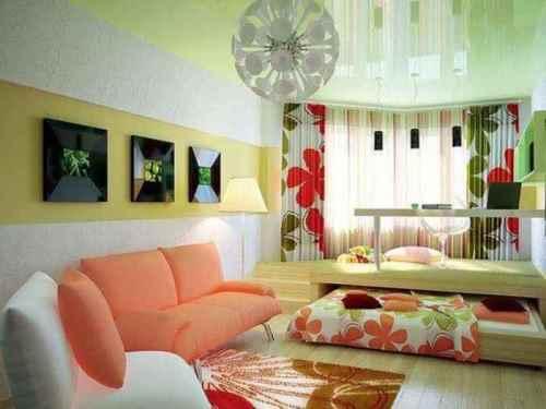 desain ruang tamu minimalis ukuran 3x3-4